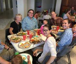Thanksgiving dinner at Tenwek